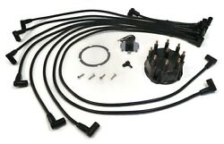 Distributor Cap Rotor And Spark Plug Wire Tune-up Kit With Gasket Fitting Screw