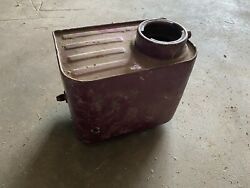 1958 Only Harley-davidson Police/military Panhead Oil Tank