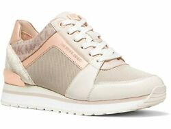 MICHAEL Michael Kors Billie Trainer Sneakers Women's Casual Shoes Soft Pink $149.95