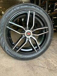 Tire And Wheel Package Sendel 18x7.5 Et38 245/45r18 5x4.75