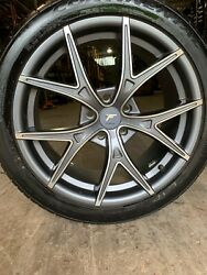 Tire And Wheel Package 5x112 18x8 Et 40 Continental Extreme Contact