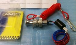 Pingel 610 Dragbike Panel Mount Safety Kill Dead Man Switch Battery Ignition