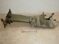 1972 72 Johnson 25 Hp Evinrude Outboard Lower Unit Prop Drive Shaft Gear Box