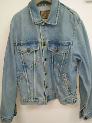 Armani Denim Blue Jacket Ladies Size SMALL