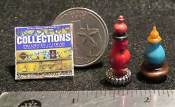Perfume Genie Bottles Collections Book Table Decor Estate As Is 112 Mini Mi1943