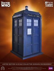 Big Chief Studios Doctor Who: Tenth Doctor TARDIS 1:6 Scale Diorama Statue NEW!