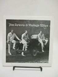 Signed By 4 Jim Brown And Vintage Wine S/t Lp Rare Texas Rockabilly Telephone