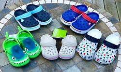 Crocs & Capelli Child Toddler Junior Water Shoes Pink Red Blue July 4th New $24.99