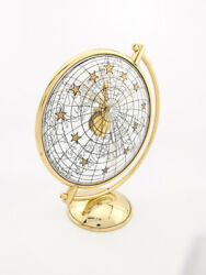 Jaeger Lecoultre Table Clock With 8 Day Baguette Movement Zodiac