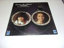 Donny Osmond Im Leaving It All Up To You W/holo Signed Lp Record Album