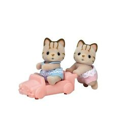 Calico Critters Sandy Cat Twins Figure Set NEW IN STOCK