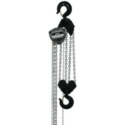 Jet 108100 L-100 1000wo-10 10-ton Chain Hoist 10and039 Lift And Overload Protection