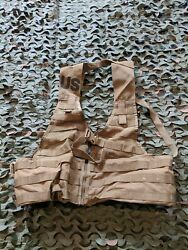 Lot 10 Brand New Molle Ii Fighting Load Carrier Vest Coyote Tan Us Mil Surplus
