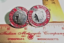 Indian Motorcycle License Plate Bolts Collectible Old Usa Mc Cycle Memorabilia S