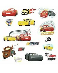 Cars 3 Disney RoomMates Vinyl Wall Bedroom 15 Removable Decal Stickers
