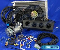 A/c-kit Universal Underdash Evaporator New 404-000bsl H/c W/ Electrical Harness