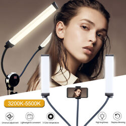 Yidoblo 50w 360°adajustable Led Double Arms Long Strips Fill Light For Makeup Us
