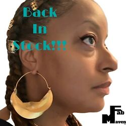New And Improved Fab Mavenand039s Version Of Gold Plated Fulani Style African Earrings