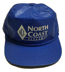 Vtg North Coast Electric Company Hat Electrical Products Cap Seattle Washington