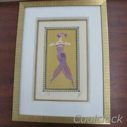 Limited Edition Artist Proof Lithograph Almee By Erte Signed Ap 15/60 Art Deco