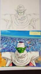 Dragon Ball Piccolo Anime Production Cel Picture Akira Toriyama From Jp Fs