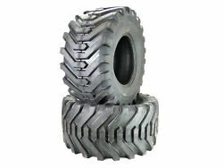 Two 26x12.00-12 4ply Gardenmaster Style Lug Tires R4 Loader 26-12.00-12 26x12x12