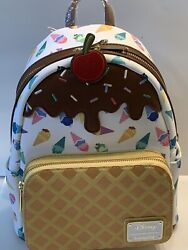 Loungefly Disney Princess Ice Cream Cone Mini Backpack And Matching Wallet $189.95