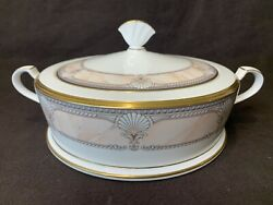 Noritake Pacific Majesty Round Covered Vegetable Serving Bowl With Lid