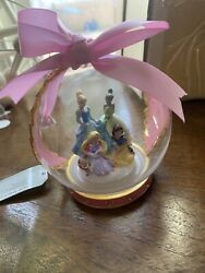 Disney Parks Blown Glass Princesses Ornament New With Tags