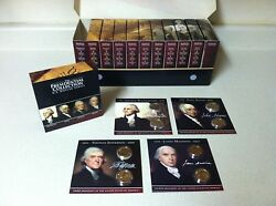 Presidential Dollars Annual Coin Collection - 2007 - 2016