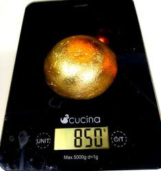 850 Grams Scrap Gold Bar For Gold Recovery Melted Different Computer Coin Pins