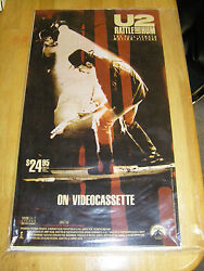8 Promo U2 Rattle And Hum Rare Posters From 1989 Set Still Sealed In Plastic