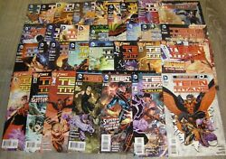 Teen Titans New 52 Lot 1 To 30, Annual 1, 2, 3, 0 1st Printing Plus The Culling