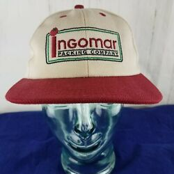K-products Agriculture Ad Ingomar Tomato Packing Co Snapback Hat Cap Usa Vintage