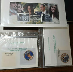 Princess Diana And William And Kate Engagement Coins And Stamp Collection Mint