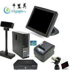 15 Touchscreen All In One Pos System Retail/liquor Point Of Sale