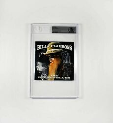 Billy Gibbons Zz Top Signed Autographed Cd Insert Bas Beckett Bgs Coa