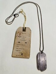 All Saints Sterling Silver Dog Tag Necklace