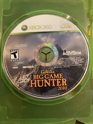 Cabela's Big Game Hunter: Hunting Party For XBOX 360 Disc Only Free Shipping $6.95