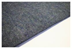 """Carpet Pad Insulation 1/2 Inch Thick Automotive Jute Padding 36""""w By The Foot"""