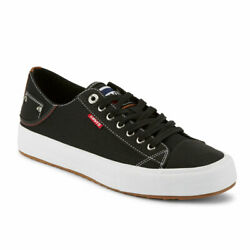 Leviand039s Mens Neil Lo Olympic Casual Canvas Lace-up Fashion Sneaker Shoe