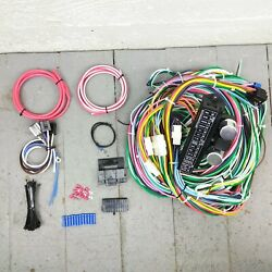 1937 Ford Wire Harness Upgrade Kit Fits Painless Fuse Block Circuit Update Fuse
