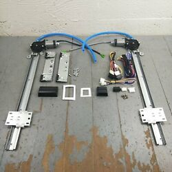 1946-54 Willys Truck Power Window Kit Project Reinforced Design Accessories 12v