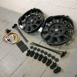 1970 Chevrolet Chevelle 8 Dual Fans Air Cooling Fan Push Pull 12v Electric Slim