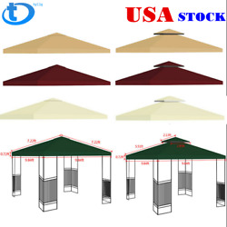 Gazebo Canopy Top Replacement 12 Tier Patio Outdoor Sunshade Cover Us