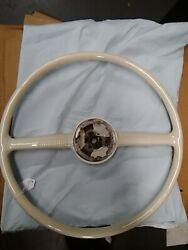 1949 1950 Ford Steering Wheel Original Not Reproduction