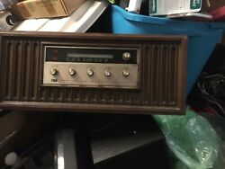 Vtg Arvin 38r888 Antique Gold White Console Stereo Novelty Transistor Radio
