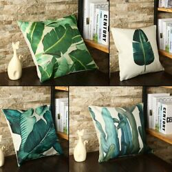 2020 Home Decorative Linen Throw Pillow Cover Pillowcase Car Sofa Cushion Cover