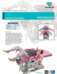 Obstetrics And Gyne Operation Table Hydraulic Ot Table General Surgical Ot Table