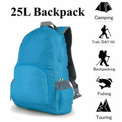 25L Hiking Backpack Camping Rucksack Waterproof Shoulder Travel Bag Men Women $5.90